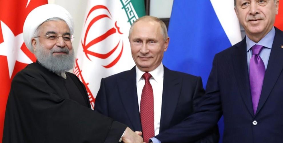 Αποτέλεσμα εικόνας για russia iran turkey summit